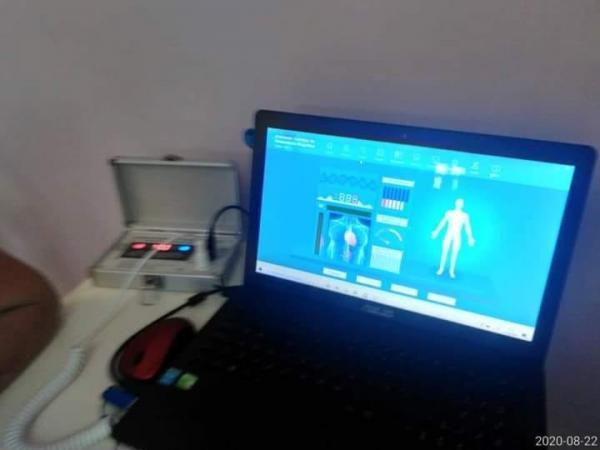 Exame Diagnóstico Medicina Quantica